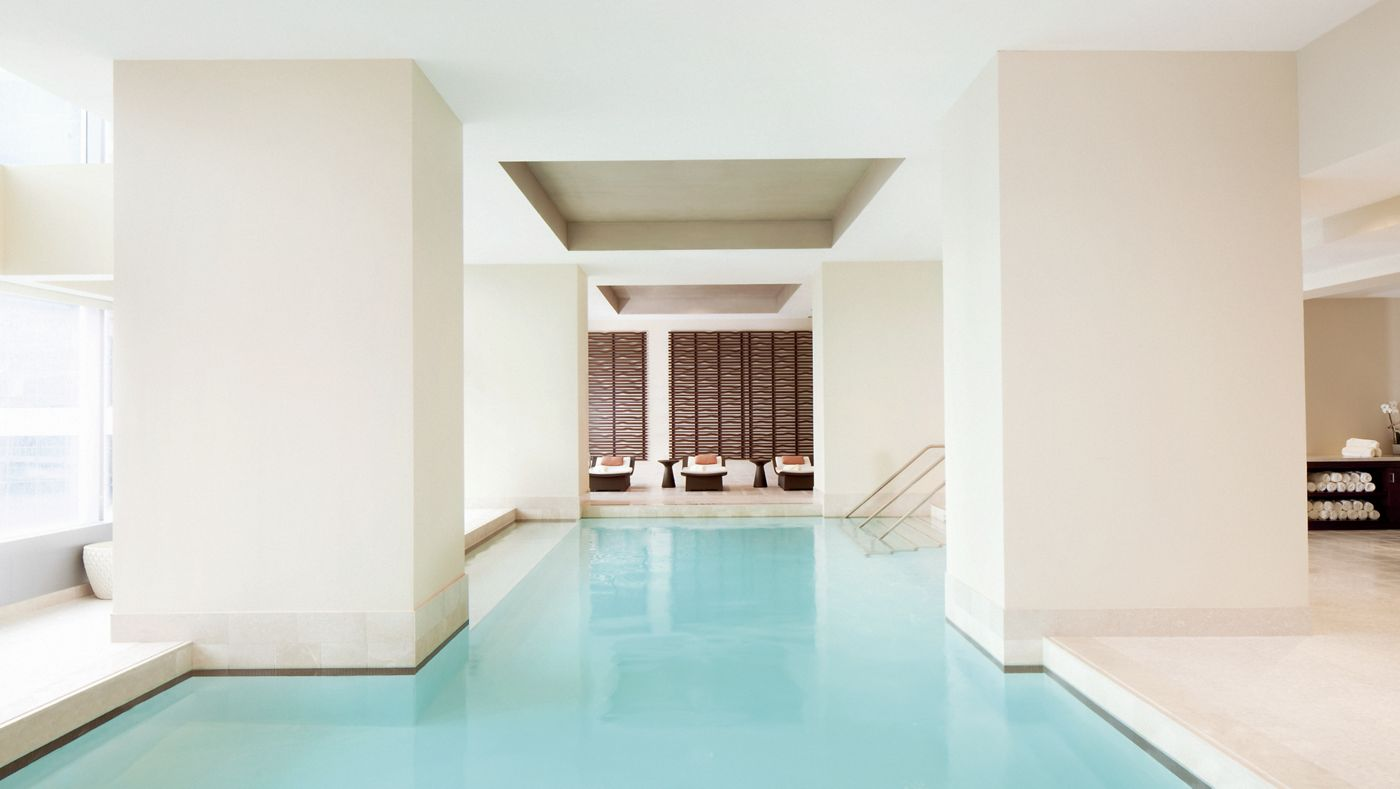 The spa at the Ritz-Carlton Toronto is one of the best in Canada.