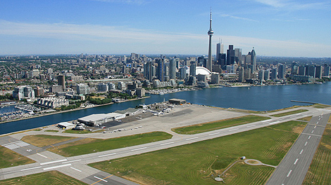 Toronto's Billy Bishop AIrport.