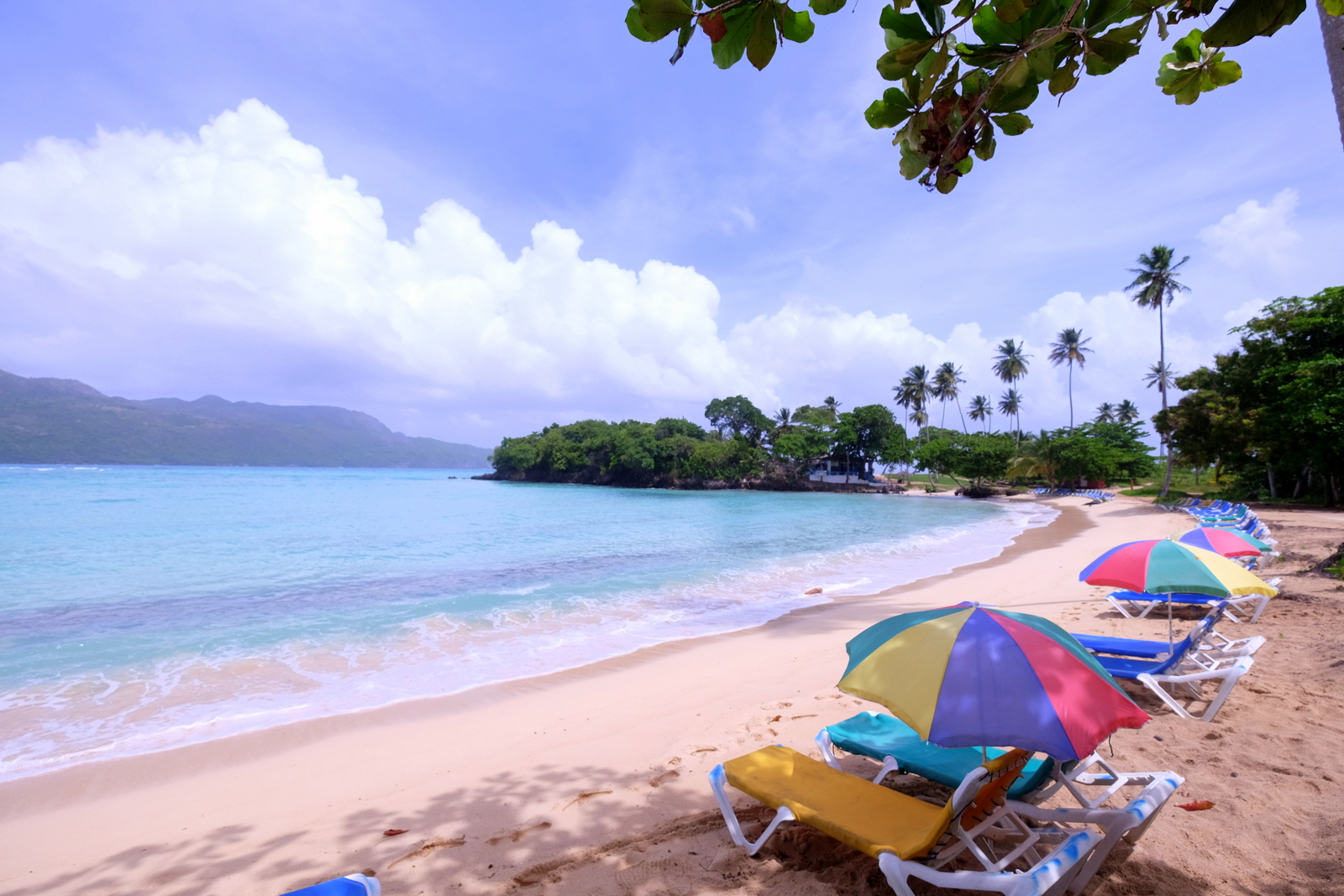 Playa Rincon is a beauty of a beach in the Samana region of the Dominican Republic.  - JIM BYERS PHOTO