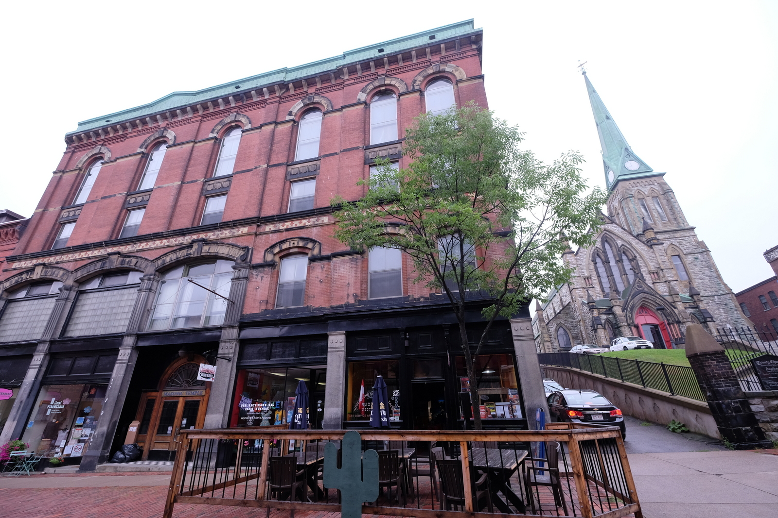 Saint John, New Brunswick has a ton of cool, old-style architecture.  - JIM BYERS PHOTO