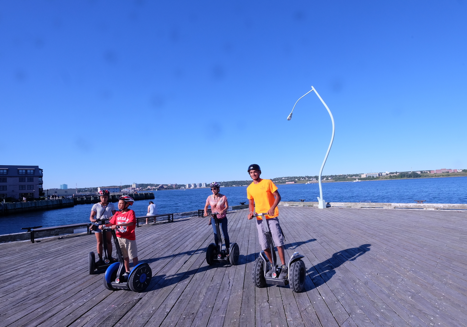 Try a Halifax waterfront Segway ride for something different. - JIM BYERS PHOTO