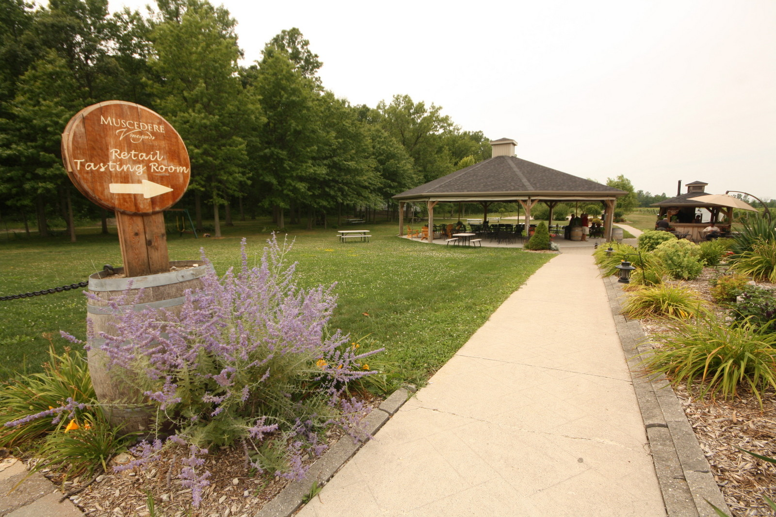Muscedere is a top-notch winery near Windsor, Ontario. - JIM BYERS PHOTO