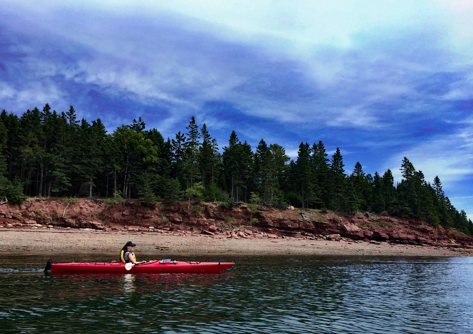 Kayaking is a great way to explore St. Andrews, New Brunswick. - JIM BYERS PHOTO