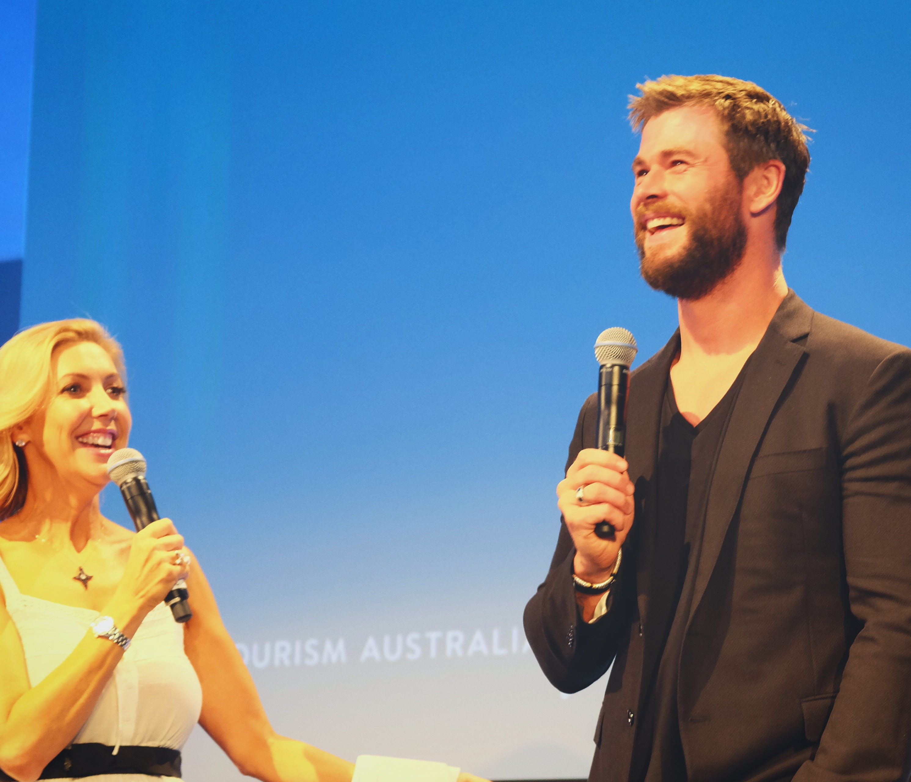 Actor Chris Hemsworth is a global ambassador for Australia. A country could do worse, that's for sure. - JIM BYERS PHOTO