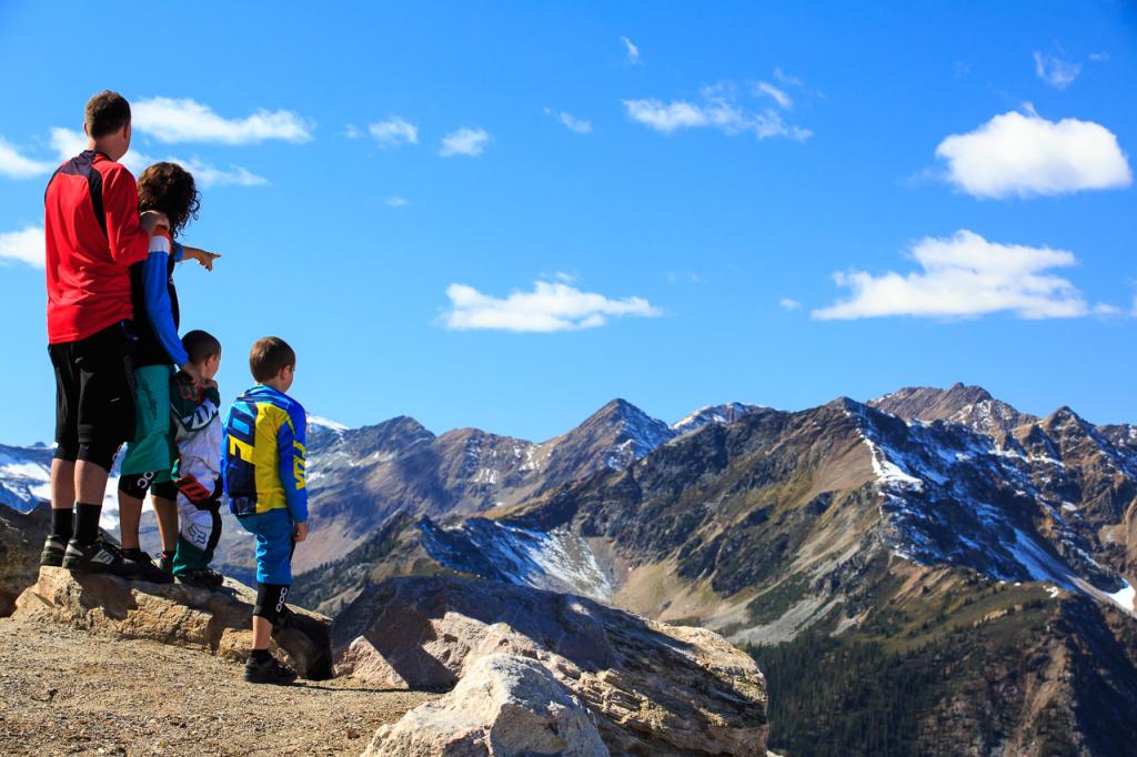 Kicking Horse Mountain in B.C. has glorious views. PHOTO COURTESY KICKING HORSE MOUNTAIN