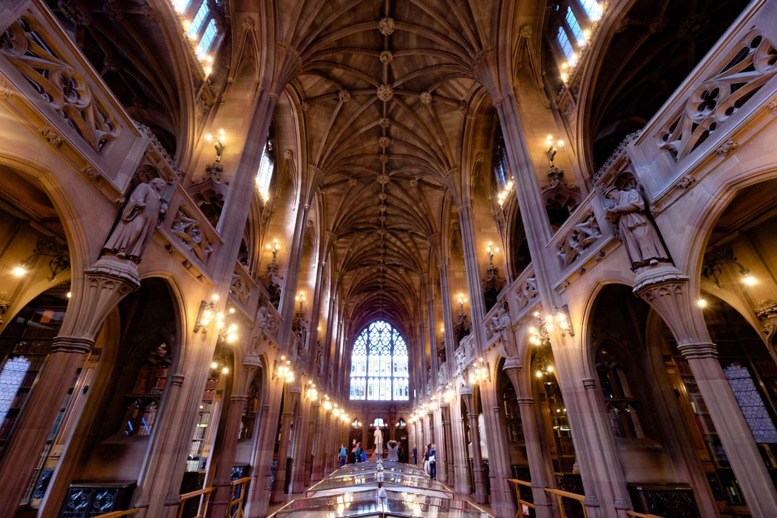 The John Rylands Library is one of many standout sights in Manchester, England. - JIM BYERS PHOTO