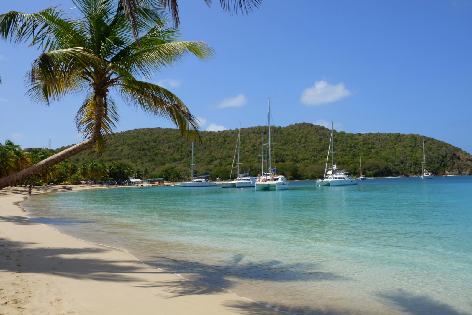 Saltwhistle Bay is a classic Caribbean beach on the island of Mayreau, part of St. Vincent and the Grenadines. - JIM BYERS PHOTO