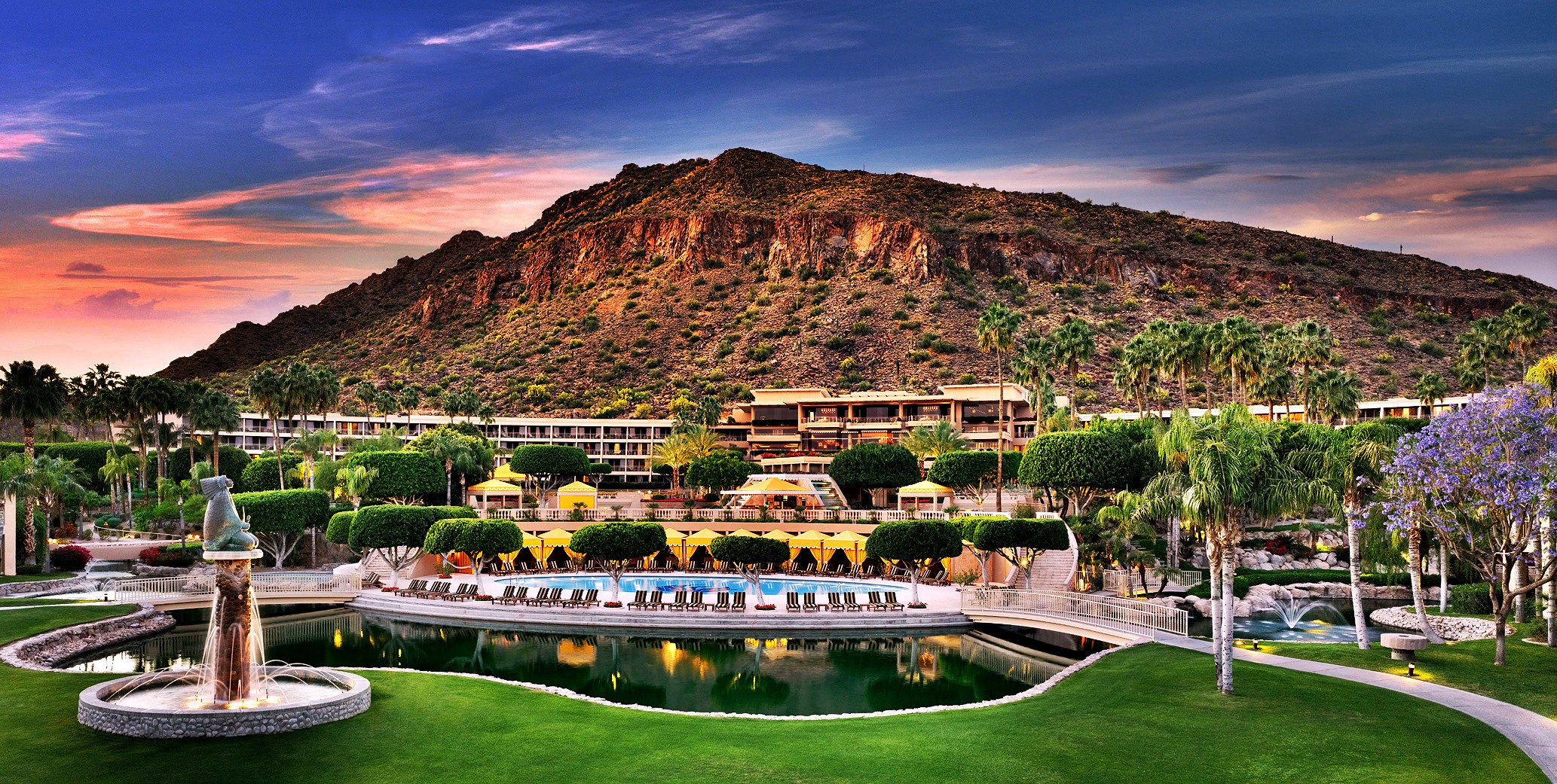 The Phoenician is a classic, luxury resort in Scottsdale, Arizona.
