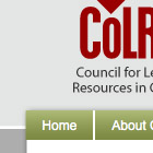 Photo: Council for Learning Resources website design.
