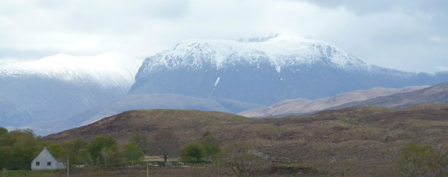 Ben Nevis from Loch Eil, Scotland lochs, travel Scotland, bike Scotland, Scottish travel