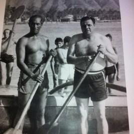 Duke with Babe Ruth