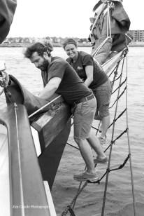 Jim Canole-Setting Sail In Newport 10