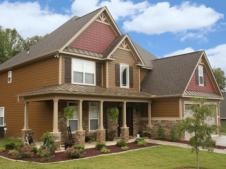 Home with Siding