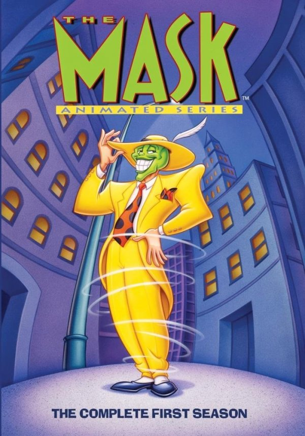 The Mask Animated Series on DVD today