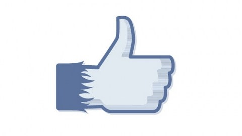 Facebook iLike Button, credit Mailchimp