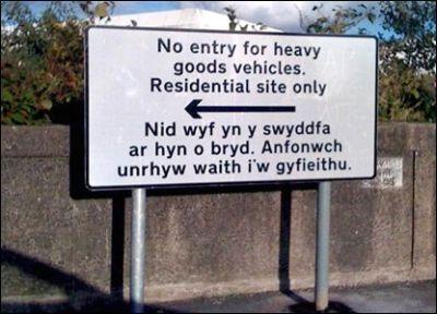 Welsh Sign