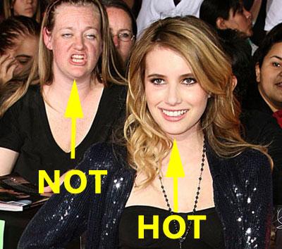 hot vs not
