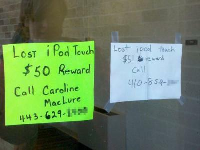 ipod touch reward