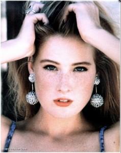 Dita von Teese at 17