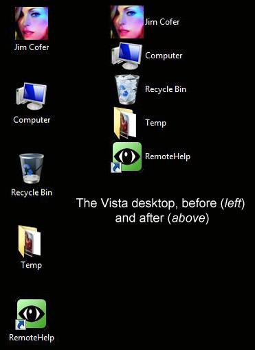 Vista Desktop (Deskview)