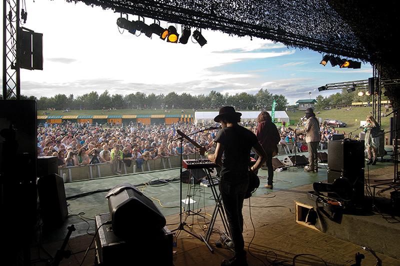 Slambovian Circus at Rhythm Festival 2009