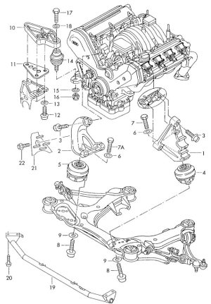 2008 Audi A4 Exhaust System Diagram Audi Wiring Diagrams
