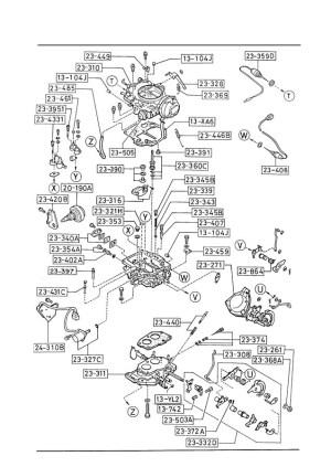 1987 Mazda B2200 Engine Diagram  Wiring Diagram Pictures