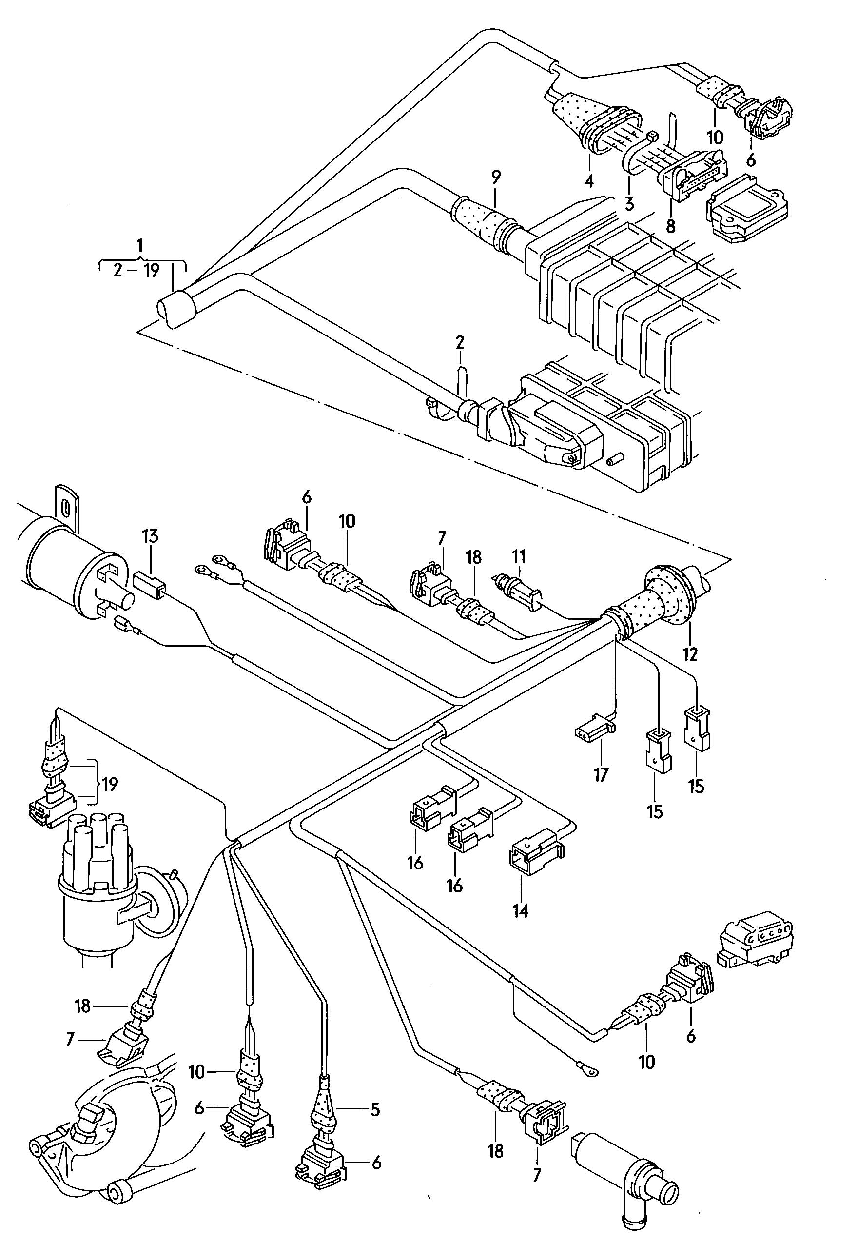 Volkswagen Scirocco 5 Mt Harness For Transistorized