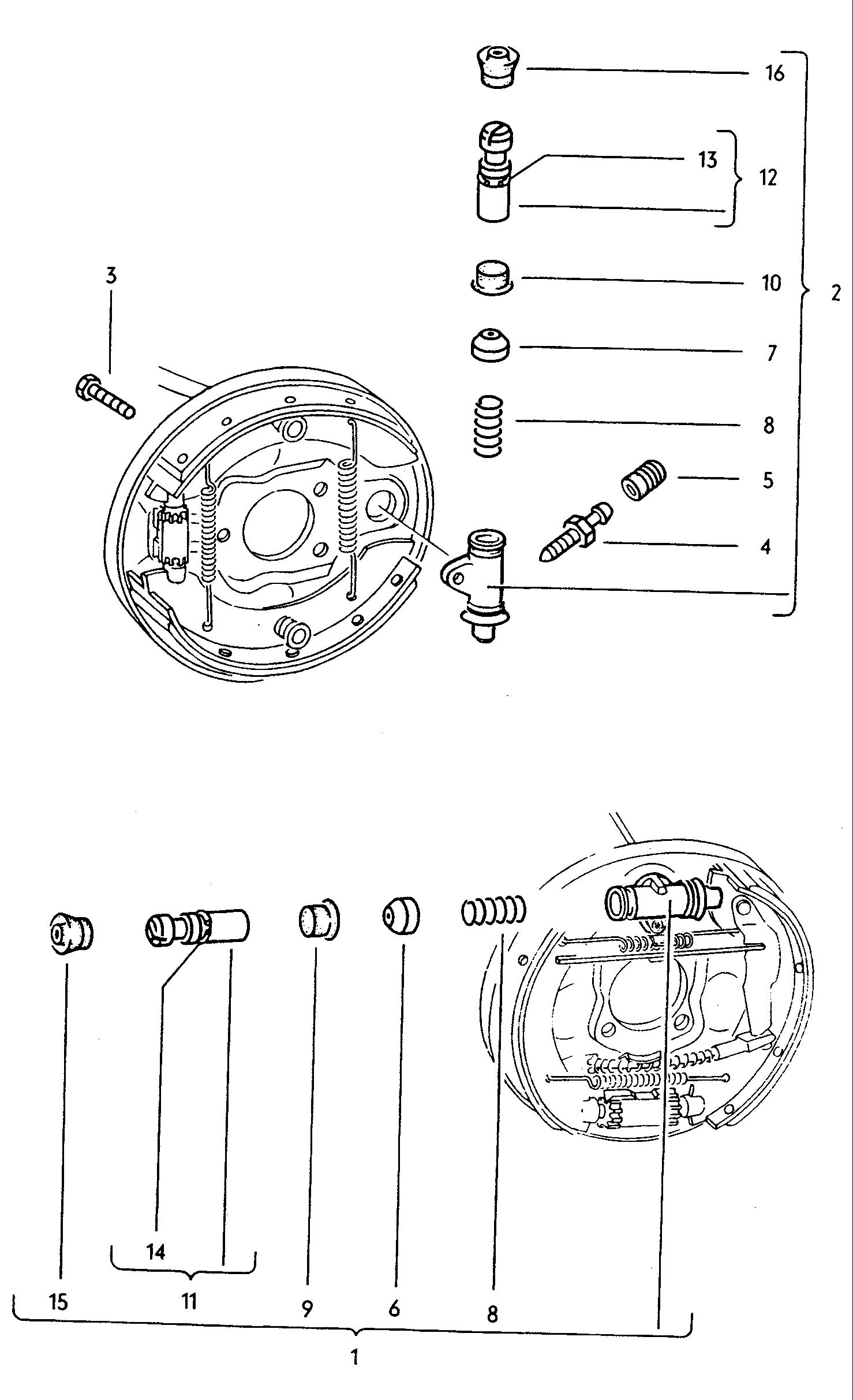 Vw Beetle Brake Parts Pictures To Pin