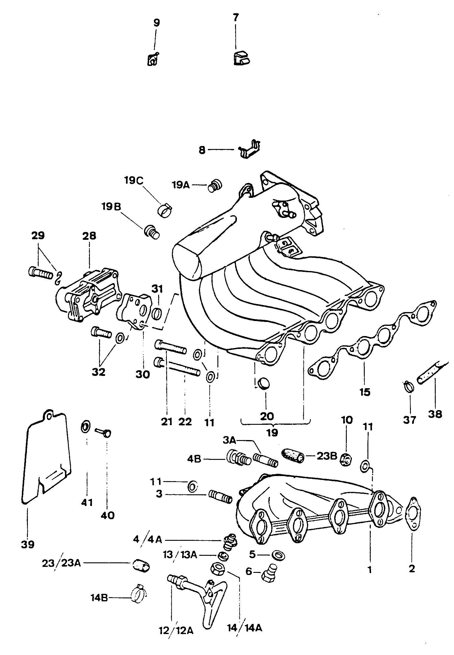 Volkswagen Fox 1 8l Ke Jetronic Throttle Body Intake