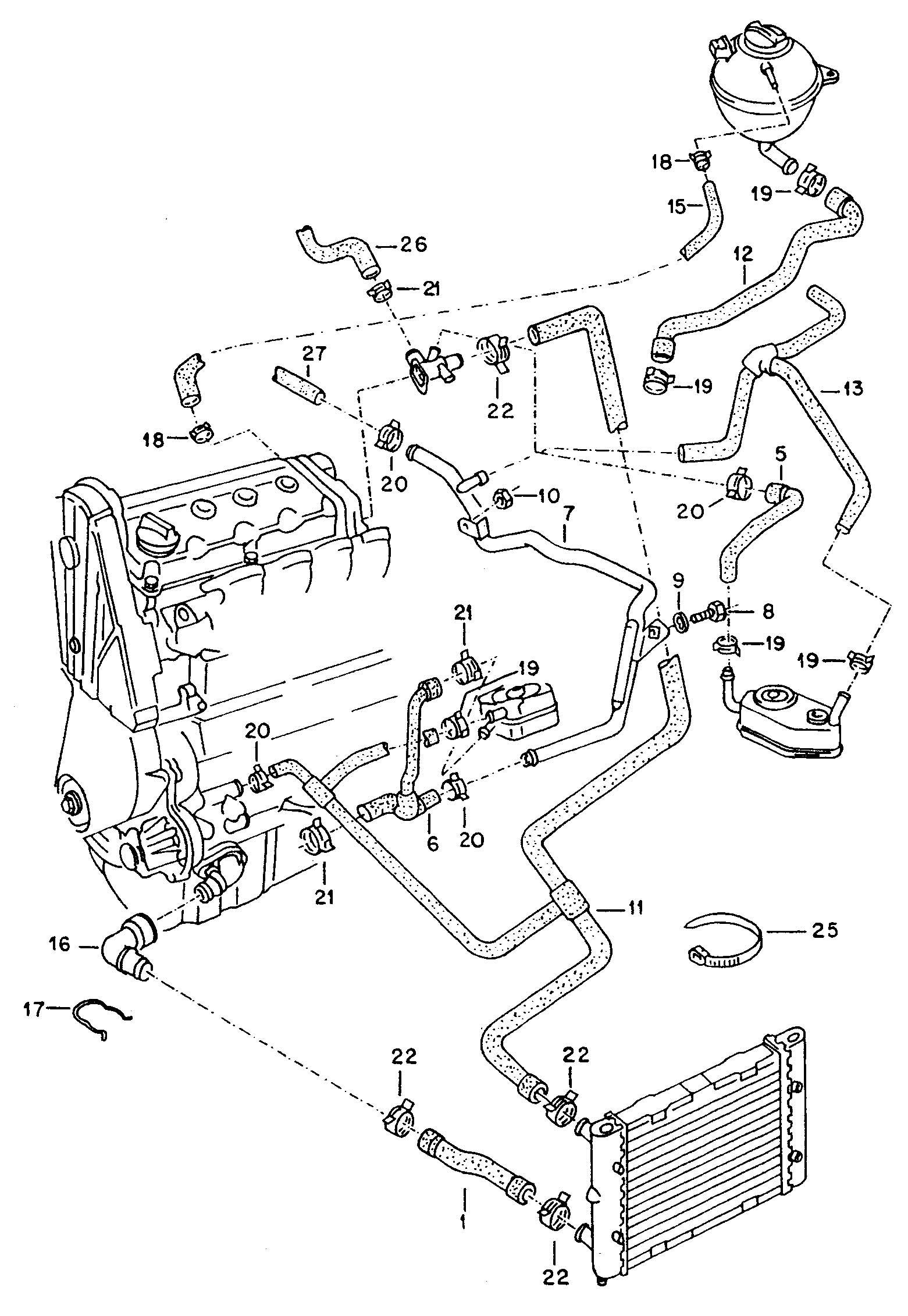 2003 Dodge Stratus Fuel Filter