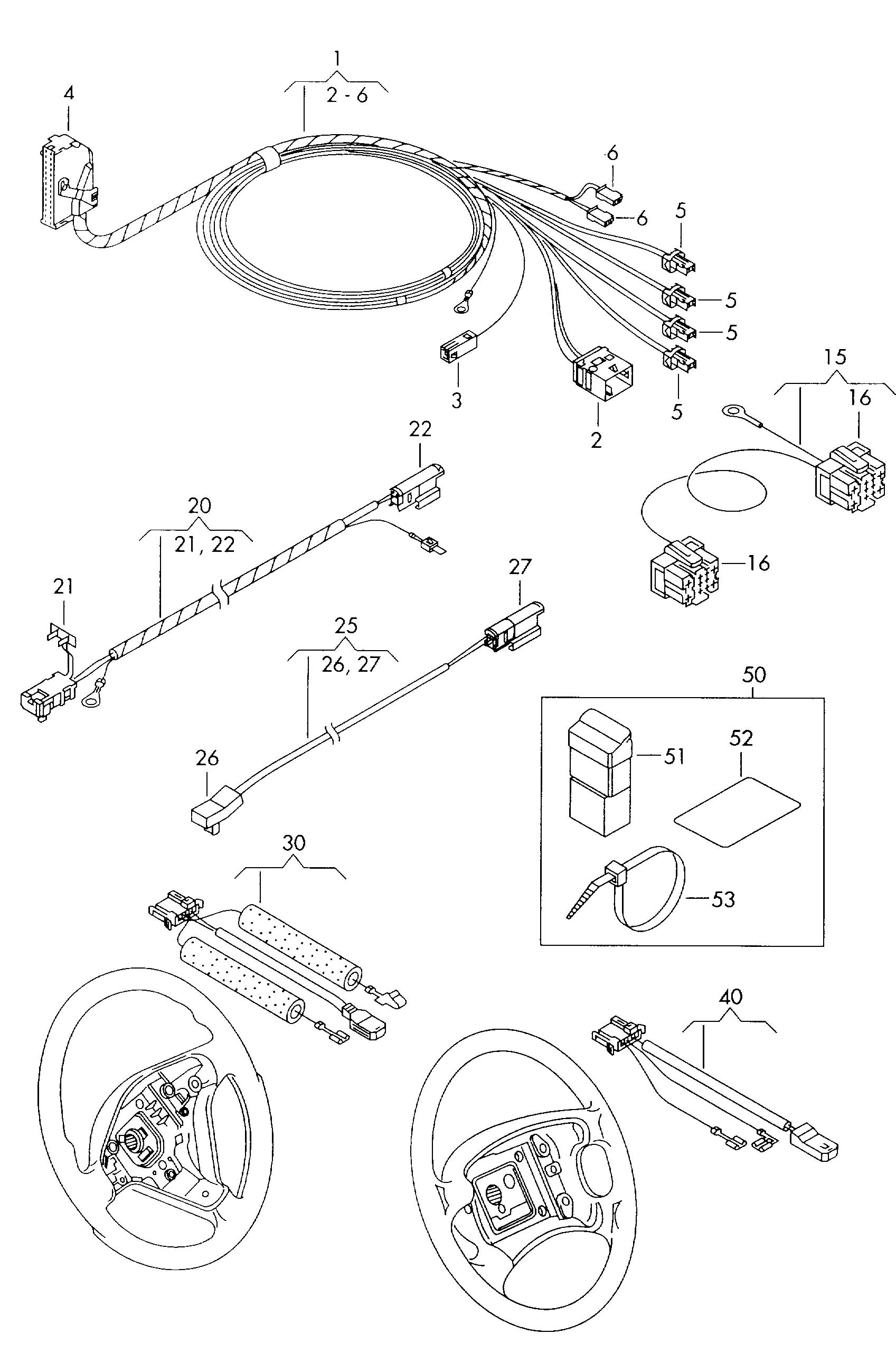 Ground Strap Adapter Harness For Belt Adapter Wiring
