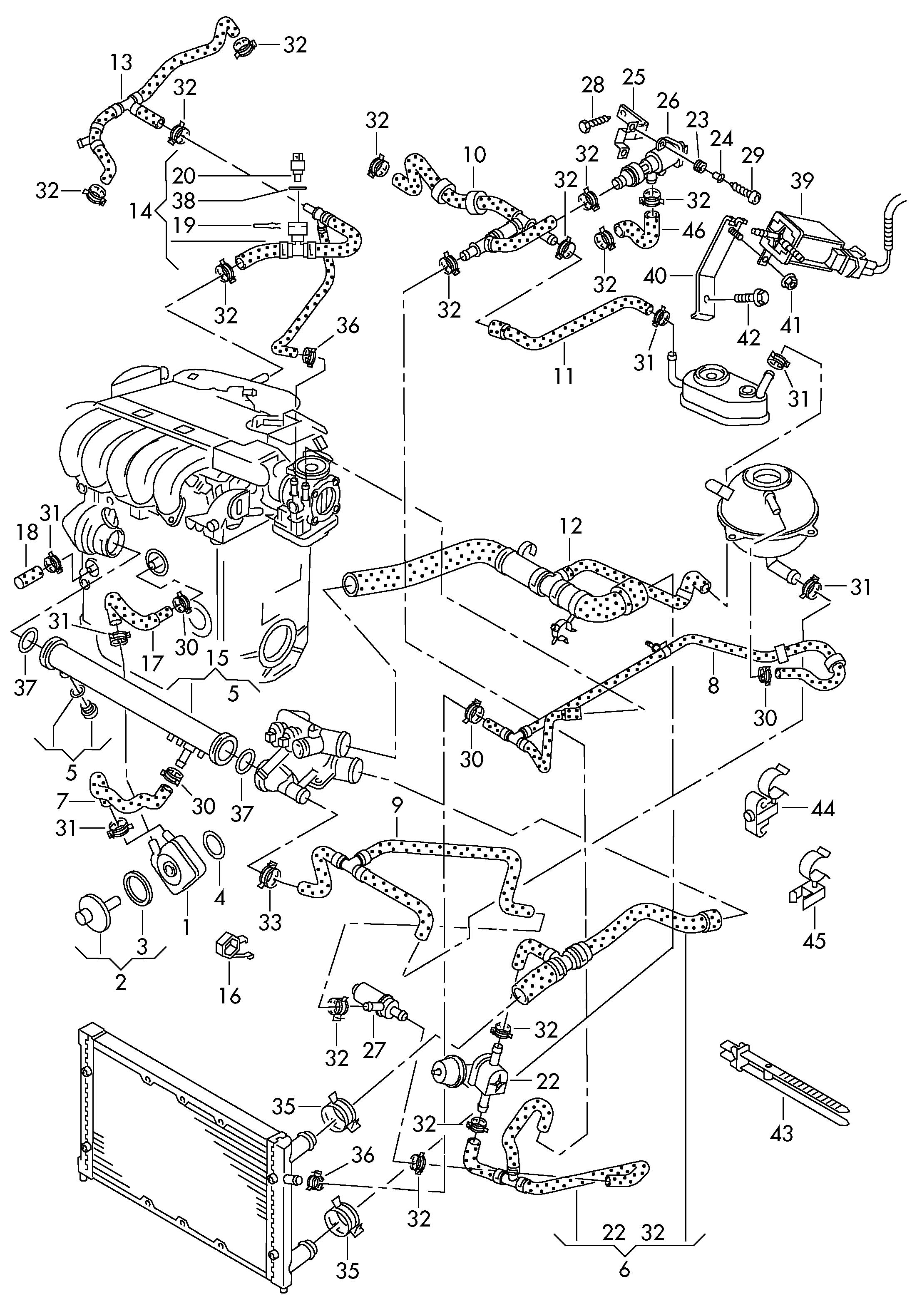 Vw golf mk4 parts diagram periodic tables