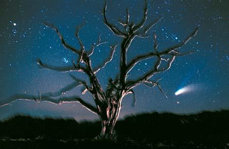 Comet Hale Bopp by John Moran