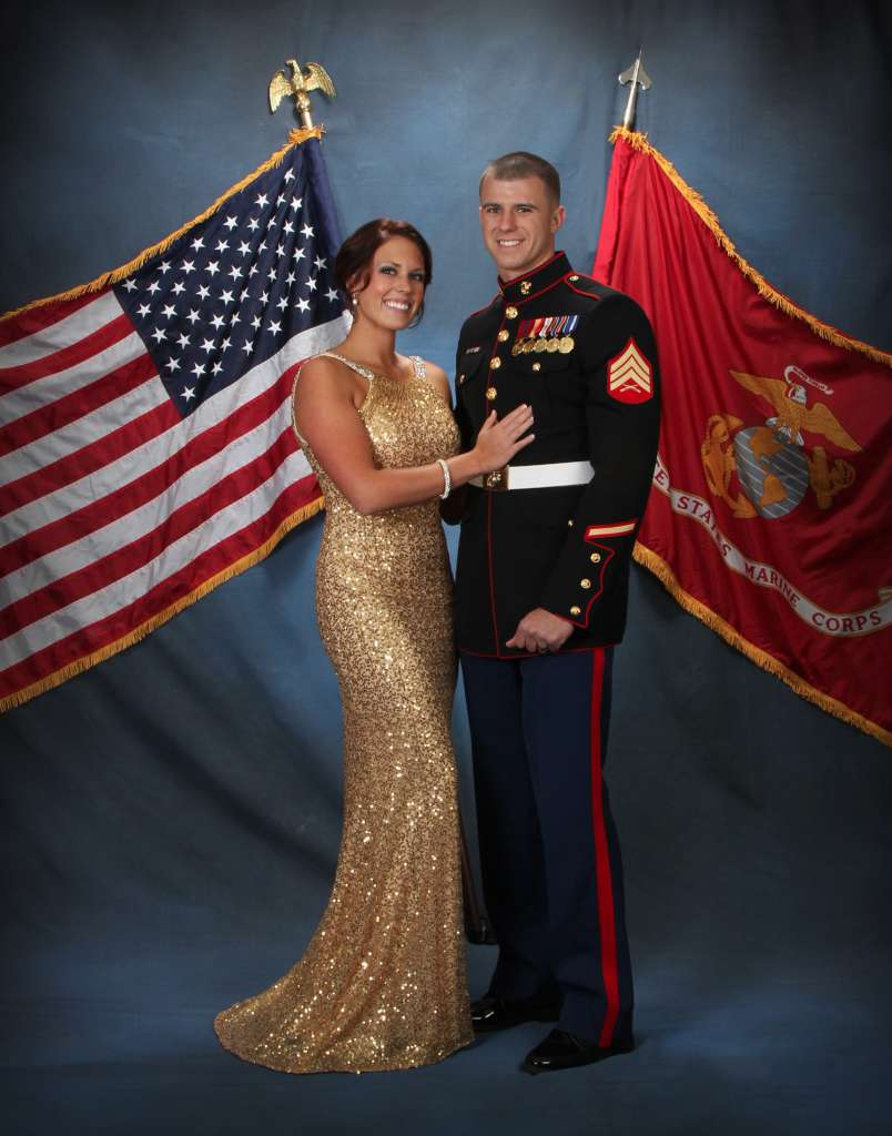 Military Ball Photography in Georgia