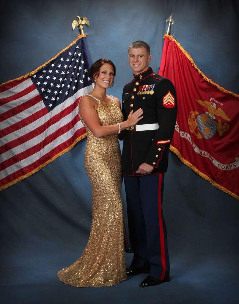 Military Ball Photography in Georgia