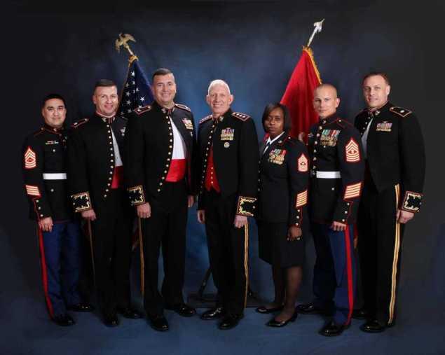 Marine Military Ball Photographer