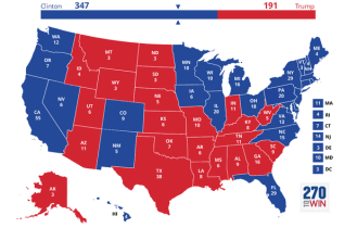 70 Days To Go: Clinton Still Cruising