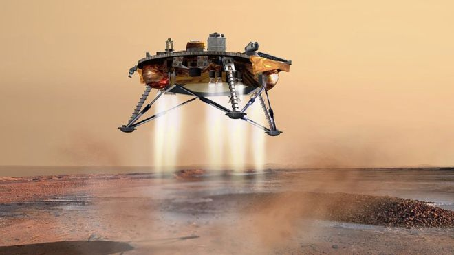 SUCCESS! NASA's InSight Lander Has Touched Down On Mars