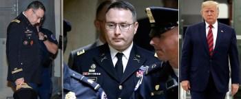 Damning Testimony: Purple Heart Recipient Claims White House EDITED Ukraine Transcript