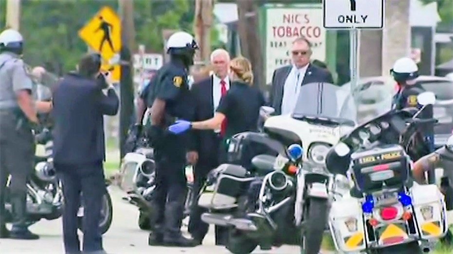 Pence Campaign Bus HITS Dump Truck In Pennsylvania – 2 Officers Hurt