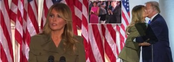 WATCH: Melania Trump Attempts To Balance Red-Meat GOP Message With Empathy
