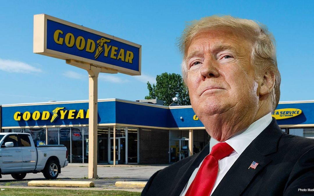 In Morning Rage, Trump 'Cancels' Goodyear Tires As He Campaigns Against 'Cancel Culture'