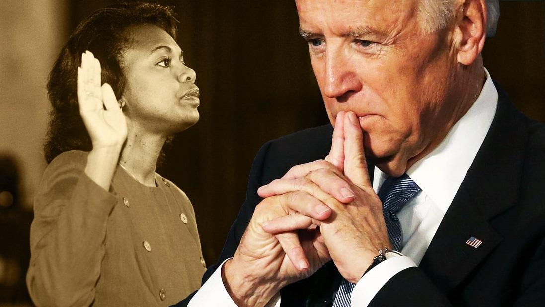 Anita Hill Says She'll Vote For Biden