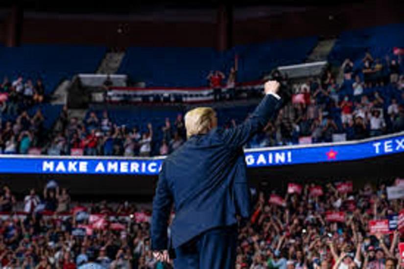 Trump Campaign Has Blown Thru $800 Million As Biden Continues To Lead
