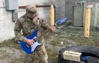 WATCH: Soldier's Badass Van Halen Tribute Goes Viral