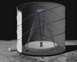Astronomers Propose Giant Telescope On The MOON – Could Help Study Big Bang