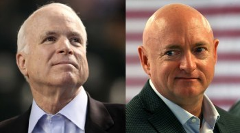 Mark Kelly Will Use John McCain's Senate Office & Desk – 'He Was A Hero Of Mine'