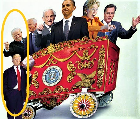 5 Years Ago – Putting Biden & Trump On The Cover Of 'Front Row Seat At The Circus'