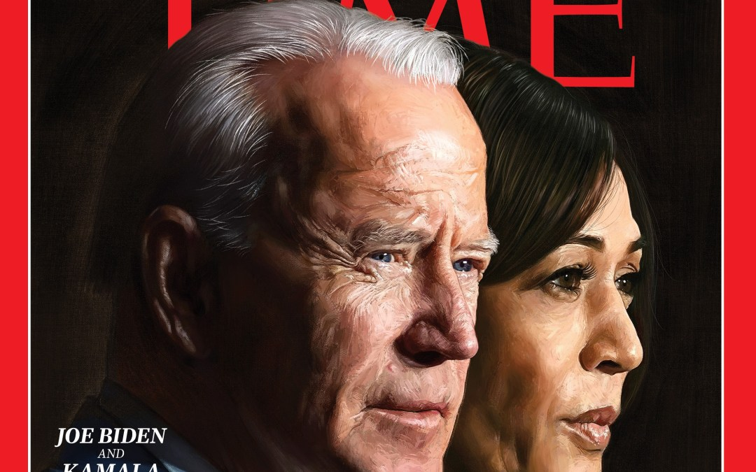Biden & Harris Are Chosen TIME Person Of The Year For 2020